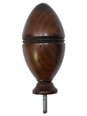 Grooved Wooden Knowle