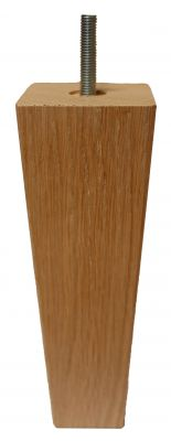 Millie Tapered Square Oak Furniture Leg